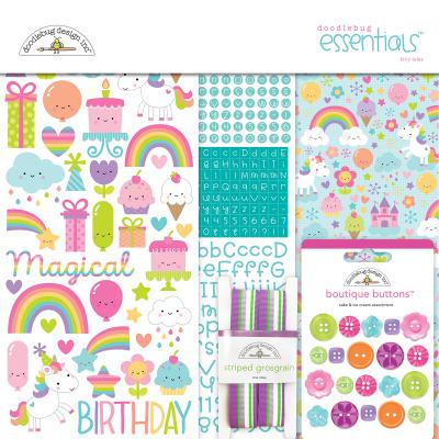 Doodlebugs Fairy Tales - Essentials Kit